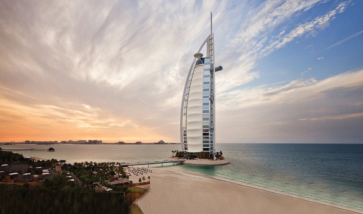 The most amazing luxury 7 star hotels in the world for Burj al arab 7 star