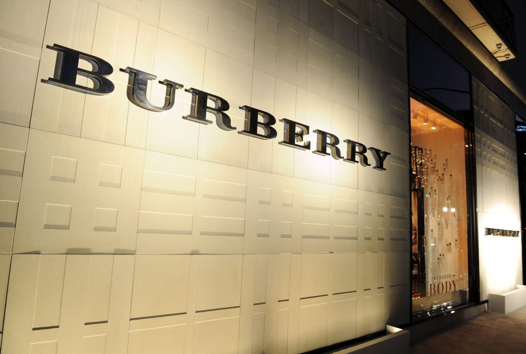 (Photo by Michael Buckner/Getty Images for Burberry)