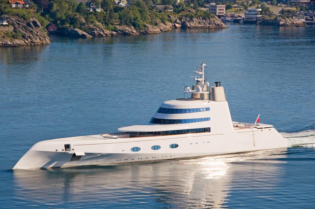 The A Yacht