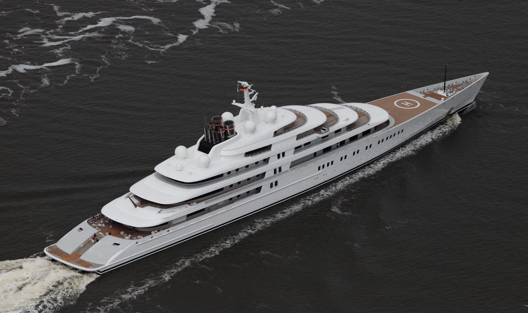 Top 10 luxury yachts in the world forever mogul for Classifica yacht piu grandi del mondo
