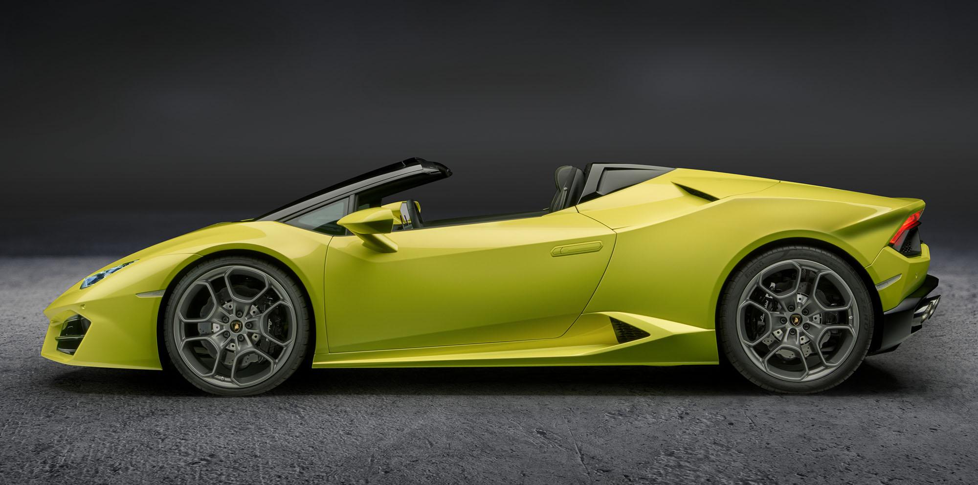 2017 Lamborghini Huracan Rear Wheel Drive Spyder Forever Mogul