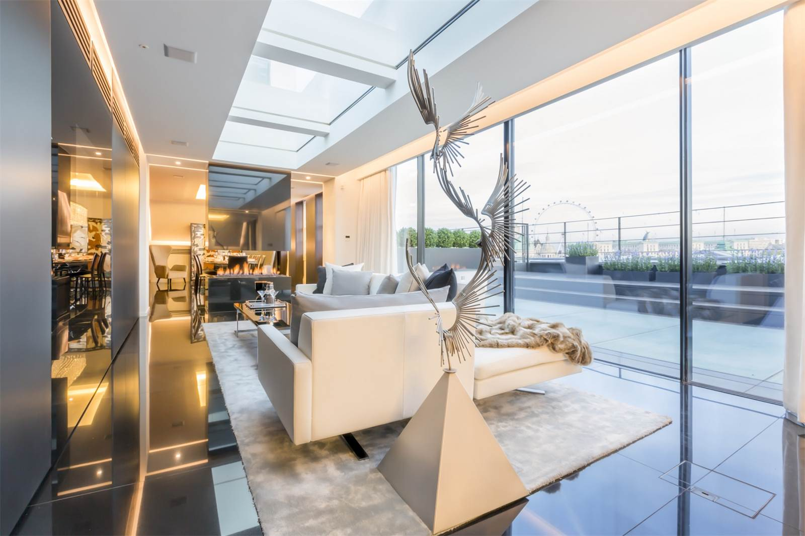 the carlton house terrace a stunning 35m penthouse in