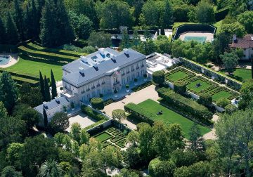 Iconic $350M Bel Air Estate Becomes Priciest Listing in the U.S.