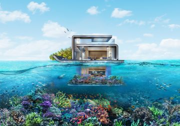 Dubai's $3.3 Million Floating Seahorse Villa