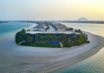 Dubai Beachfront Villa With A Nightclub: Yours For $54 Million