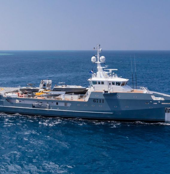 Sold: Damen's Fast Support Vessel 6711