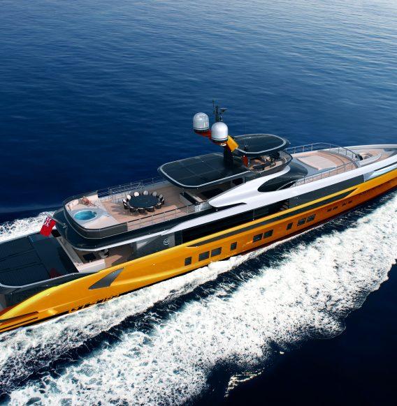 Meet the All-New DYNAMIQ GTT 165: The First Foiling Superyacht