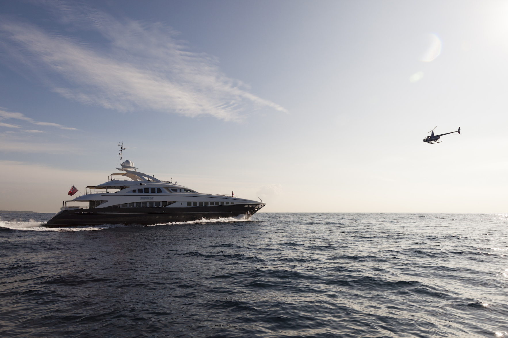 Heesen Yacht Sibelle - Photo Jeff Brown courtesy of Heesen
