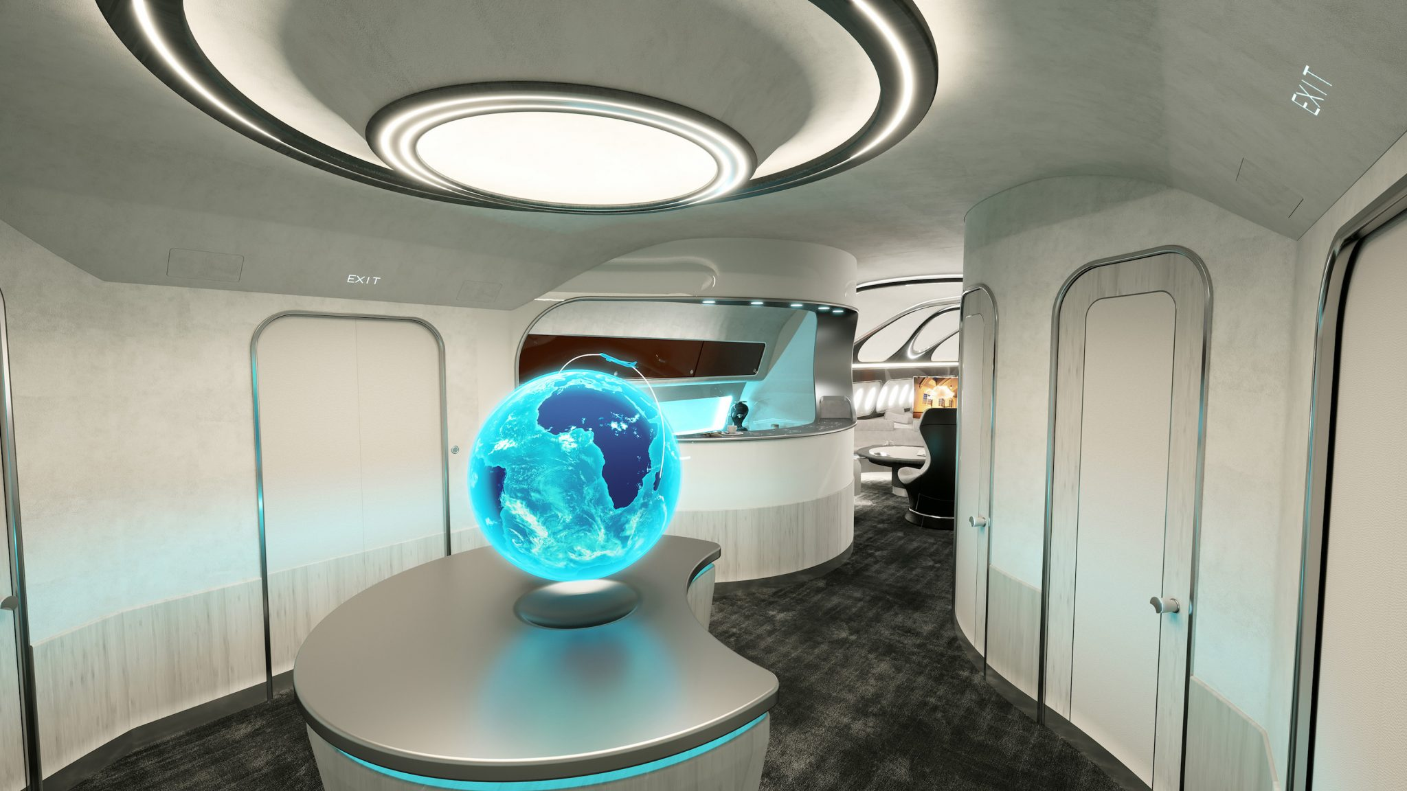 The Hotel Class Airbus Unveils New Luxury Cabin Harmony Forever